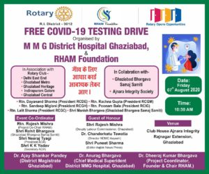 Free Coivd Test Ghaziabad